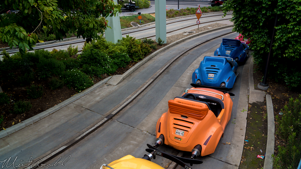 Disneyland Resort, Disneyland, Tomorrowland, Autopia, Honda