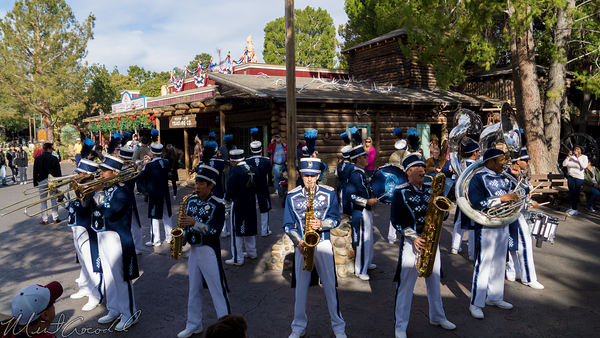 Disneyland Resort, Disneyland60, Christmas, Time, Disneyland, Frontierland, Band