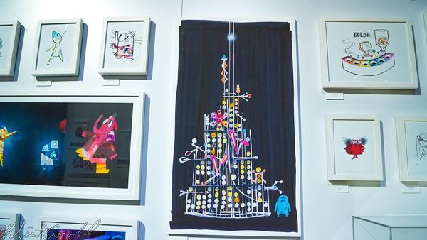 Disneyland Resort, Disneyland60, Disneyland, Disney California Adventure, D23, Expo, 2015, Show, Floor, Pixar