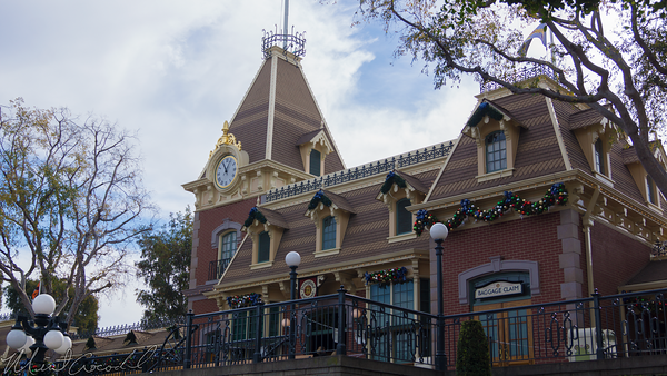 Disneyland Resort, Disneyland60, Christmas, Time, Disneyland, Railroad, Train