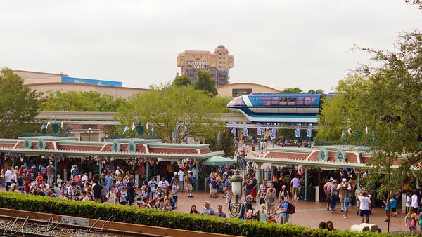 Disneyland Resort, Disneyland60, Disneyland, Main Street U.S.A., Railroad, Station, Depot, Train